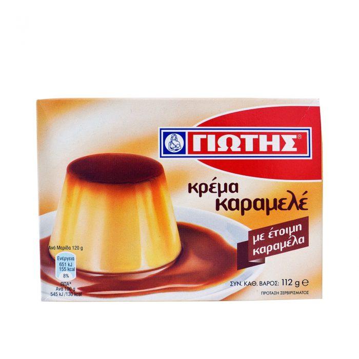 Jotis Creme Caramel / Κρέμα Καραμελέ 112g