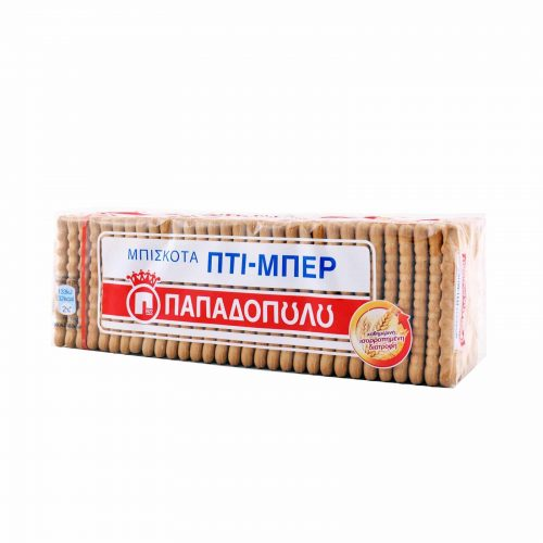 Papadopoulou Petit-Beurre Biscuits / Μπισκότα Πτι Μπερ 225g