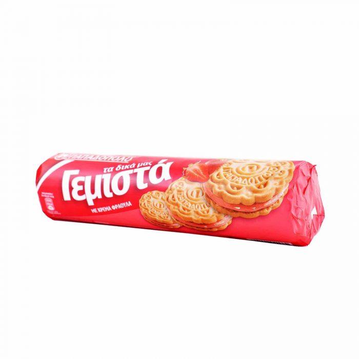 ΠΑΠΑΔΟΠΟΥΛΟΥ Μπισκότα γεμιστά Φράουλα