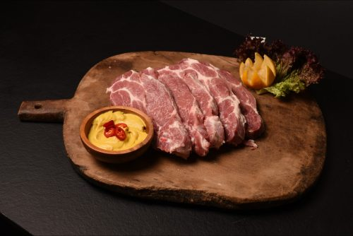 Pork Steak Neck Bone / Μπριζόλες Χοιρινές Λαιμού 600g