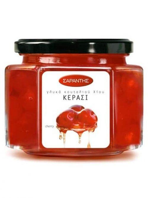 Sarantis Preserves Cherry / Σαραντής Γλυκό κουταλιού Κεράσι 453g