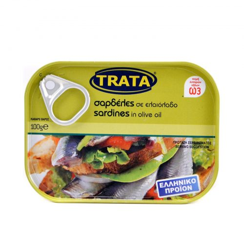 Trata Sardines in olive oil / Σαρδέλες σε ελαιόλαδο 100g